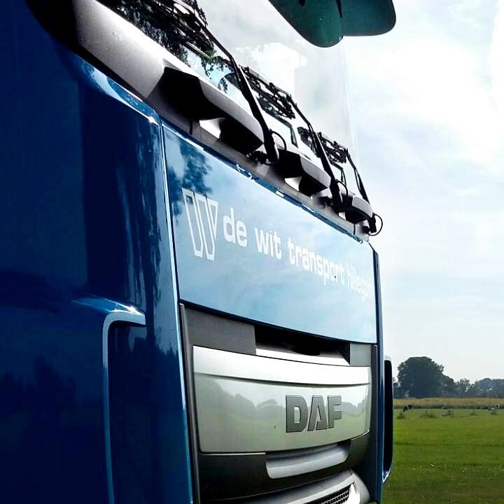 De Wit vrachtwagen DAF