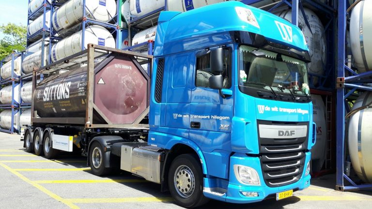 Tankcontainer chauffeur